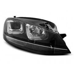 VW Golf 7 11.12- U-TYPE Black With Black Line