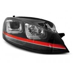 VW GOLF 7 11.12- U-TYPE Black With Red Line GTI