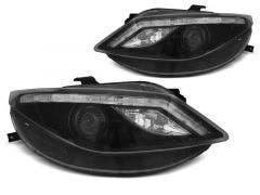 LED-koplamp-units-Seat-Ibiza-6J-Black-LED-knipperlicht