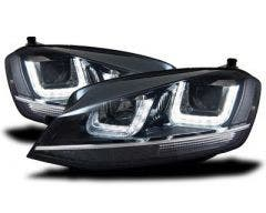 LED koplamp unit VW Golf 7 Black Chrome_3