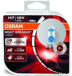 OSRAM Night Breaker Laser H7 55W +130% 64210NBL-HCB