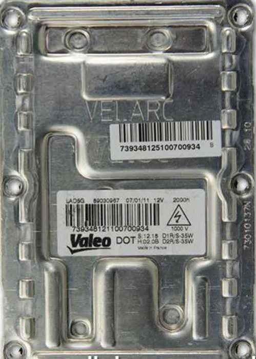 Valeo 5GL Chrysler/Saab/Renault/Citroen Ballast