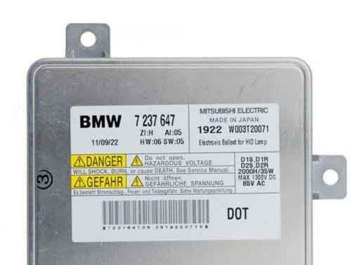Mitsubishi BMW Ballast