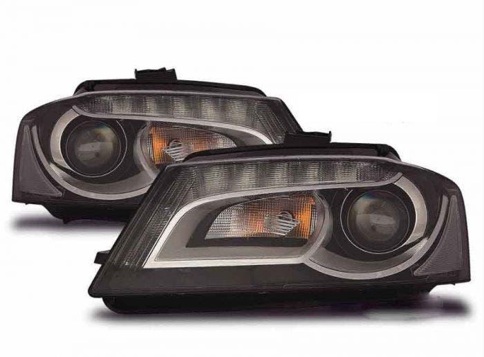LED koplamp unit Audi A3 (8P) Black New Model