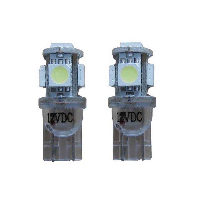 5 SMD LED Knipperlicht W5W - oranje
