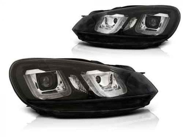 VW Golf 6 U Type Black LED Unit