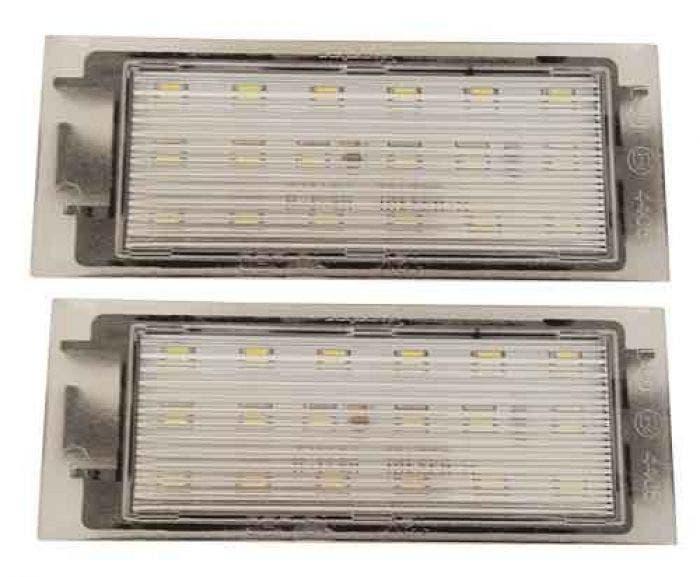 Renault Canbus LED Kentekenunit V2-2