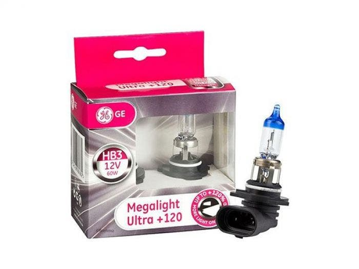 GE Megalight Ultra +120 - HB3 set