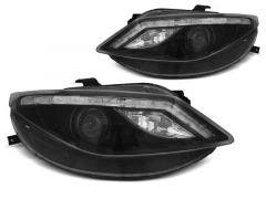 LED-koplamp-units-Seat-Ibiza-6J-Black-LED-knipperlicht