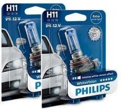 Philips WhiteVision 3800k set - H11