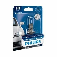 Philips WhiteVision 4300k blister 1 lamp - H1
