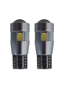 W5W-T10 6 HP Canbus LED