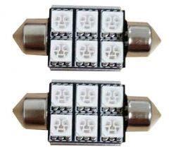 6-SMD-C5W-Groen-24v-Canbus-LED