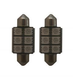 6-SMD-LED-binnenverlichting-36mm-groen