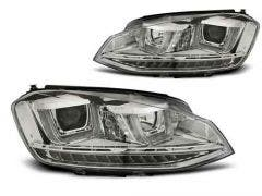 VW GOLF 7 11.12- U-TYPE Chrome DRL