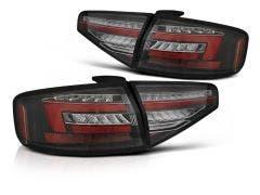 Audi A4 B8 Sedan LED achterlicht units, dynamisch knipperlicht Black