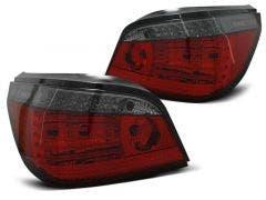 BMW E60 LED achterlicht units, dynamisch knipperlicht Red Smoke