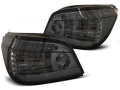 BMW E60 LED achterlicht units, dynamisch knipperlicht Smoke