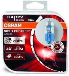OSRAM Night Breaker Laser H4 55W +130% 64193NBL-HCB