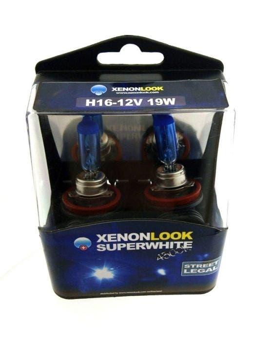 xenonlook-super-white-h16-4300k-55w