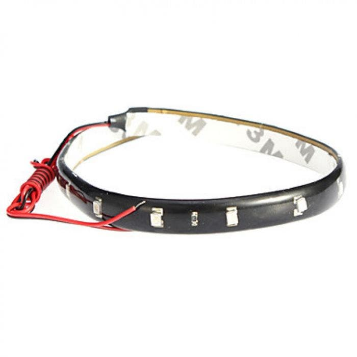 Gekleurde LED strip - wit