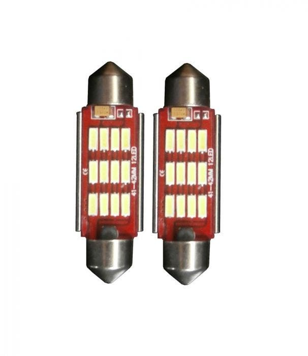 12-LED-canbus-42mm-wit