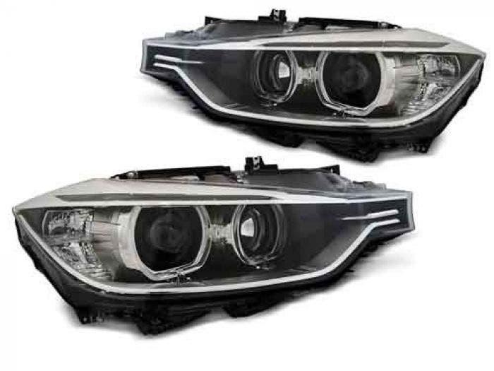 BMW F30/F31 10.11-05.15 Black LED Angel Eyes Unit