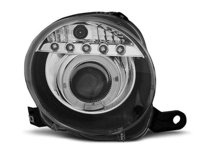 LED-koplamp-units-FIAT-500-Black