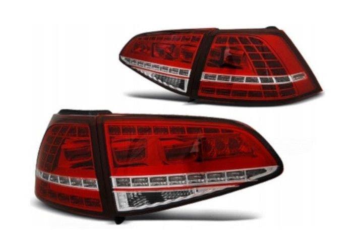 VW Golf 7 LED achterlicht units met dynamisch knipperlicht Red White