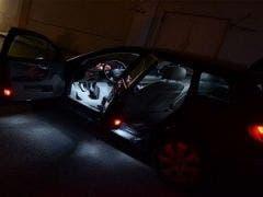 Audi A4 B6 sedan X-Line LED binnenverlichtingspakket Basis-pakket
