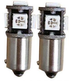 5-SMD-H6W-Rood-LED-Binnenverlichting