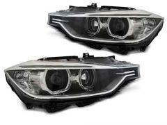 BMW-F30/F31-10.11-05.15-Black-LED-Angel-Eyes-Unit
