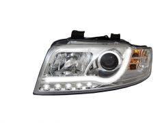 LED koplamp unit geschikt voor Audi A4 (B6) Chrome