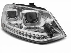 LED-tube-koplamp unit-VW-POLO-6R-chrome