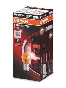 Osram Truckstar Pro PY21w-BAU15s 24v 7510TSP 10stuks