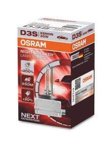 Osram Xenarc Night Breaker Laser 66340XNL D3S