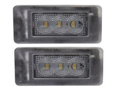 Peugeot Citroen C5 LED kentekenverlichting units