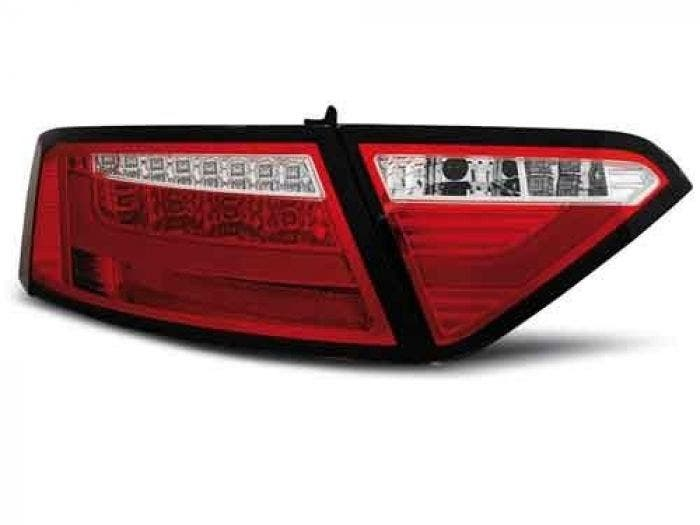 Audi A5 Coupe Achterlicht Unit Red Clear