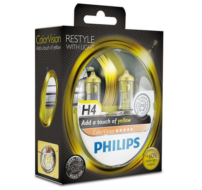 Philips ColorVision Geel - H4