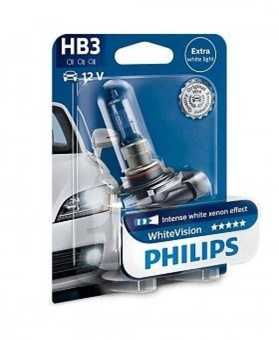 Philips WhiteVision 4300k blister 1 lamp - HB3
