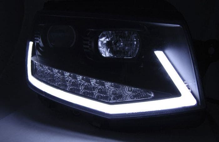 VW-T6-Black-edition-LED-Tube-DRL